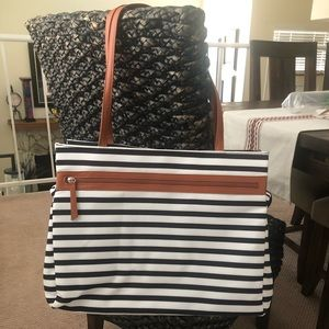 DSW Bags - Striped Tote Bag